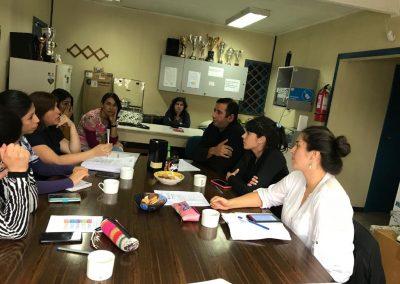 Reunión Programa Extra-presupuestarios DSM Gorbea